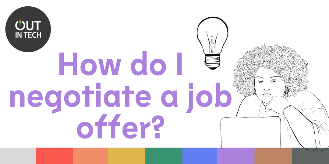 Header image that reads - how do I negotiate a job offer?